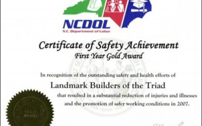 landmark builders ncdol archives landmark builders