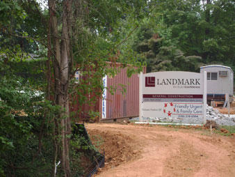 Landmark Builders Friendly Urgent Family Care Is Building A New