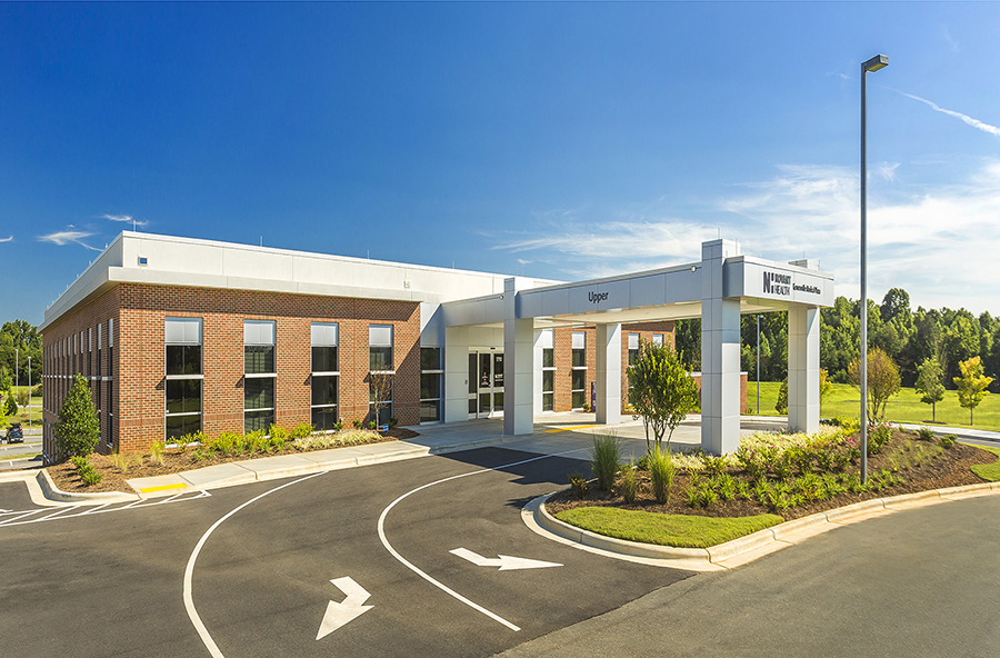 Complete in 10 months, this two story medical office building houses six individual practices.