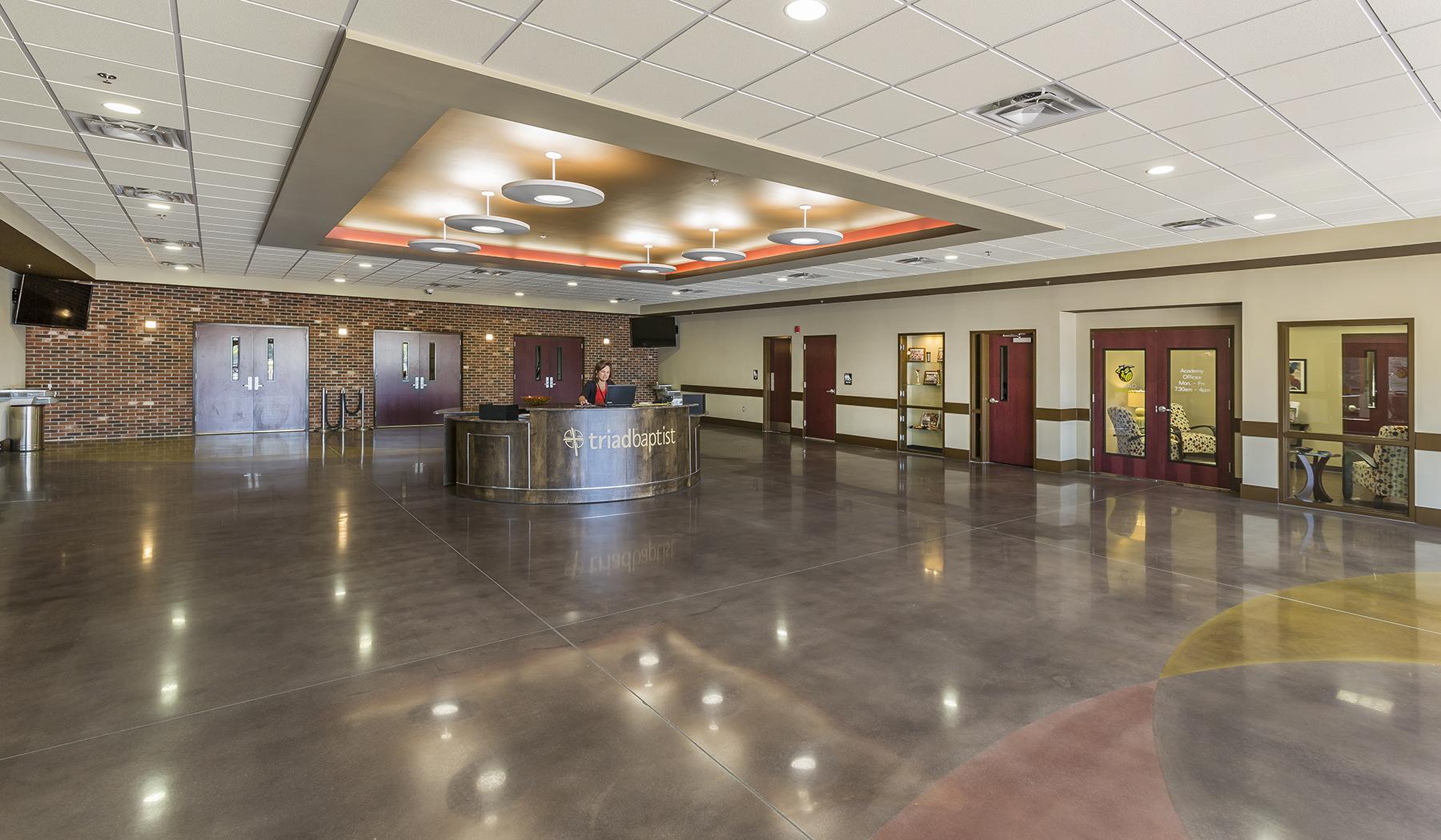 Landmark Builders Triad Baptist Church | Multi-Purpose Building ...